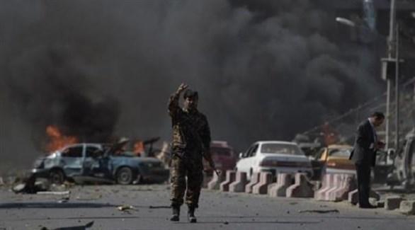 انفجار سيارة مفخخة في أفغانستان (أرشيف)