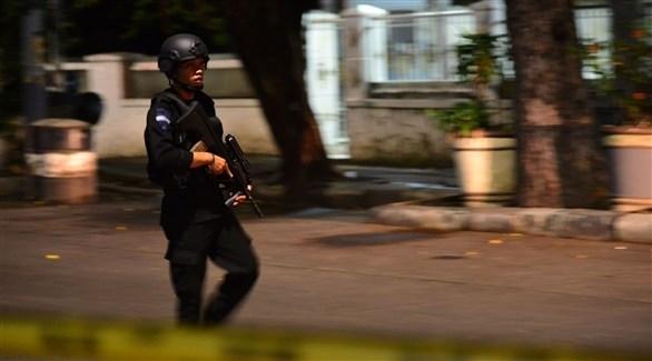 عنصر من الشرطة الإندونيسية (أرشيف)
