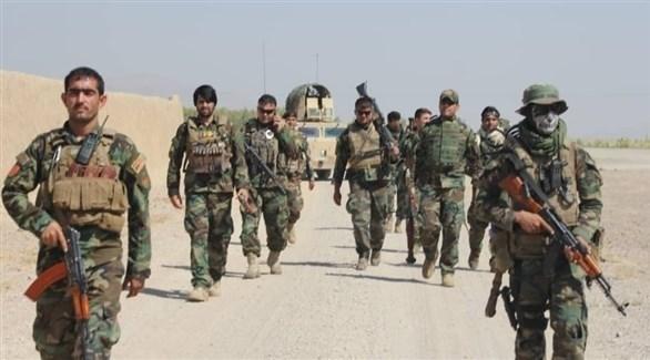 عناصر من الجيش الأفغاني في مدينة قندهار (أرشيف)