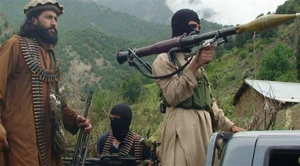 مسلحون من جماعة طالبان في أفغانستان (أرشيف)