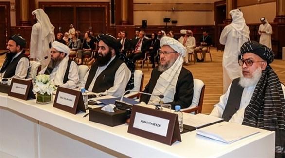 مفاوضون من حركة طالبان (أرشيف)