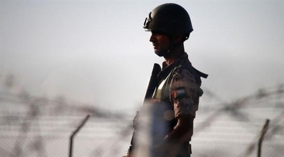 جندي أردني على الحدود السورية (أرشيف)