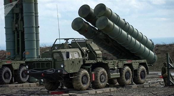 منظومة الدفاع الجوي الروسية  اس-400 (أرشيف)