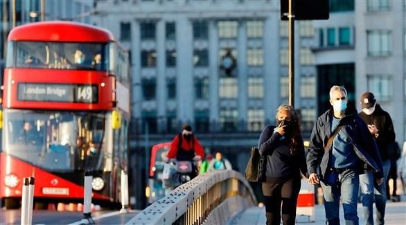 بريطانيون في وسط لندن (أرشيف)