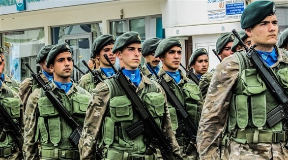 عناصر من الجيش اليوناني (أرشيف)