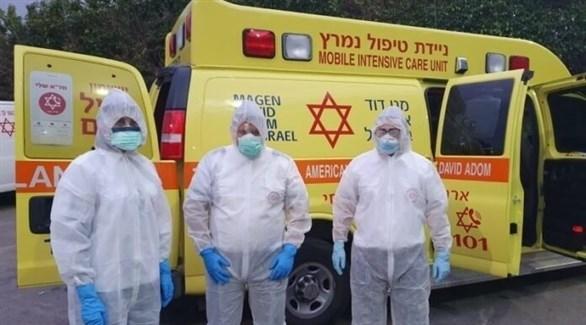 مسعفون إسرائيليون (أرشيف)