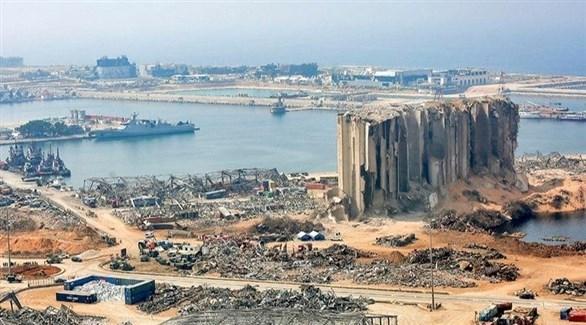 مرفأ بيروت بعد الانفجار (أرشيف)