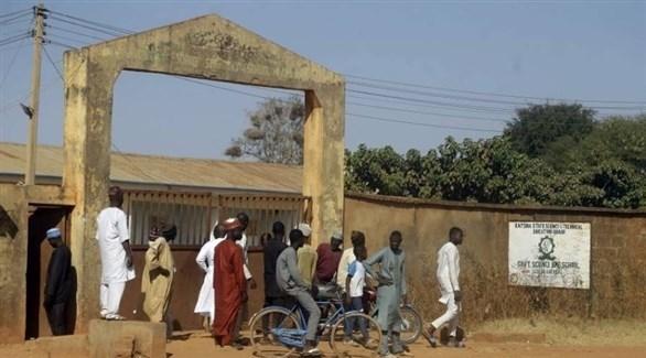 أحد المدارس في نيجيريا (أرشيف)