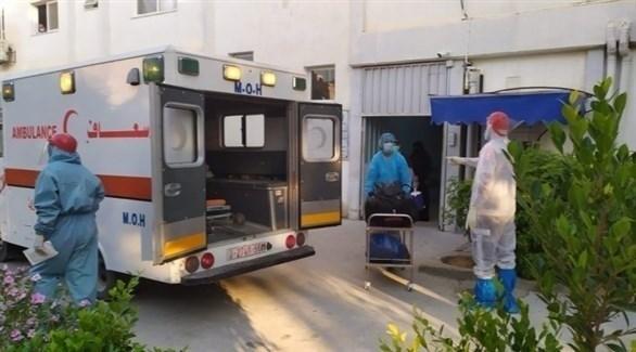 سيارة إسعاف في غزة (أرشيف)