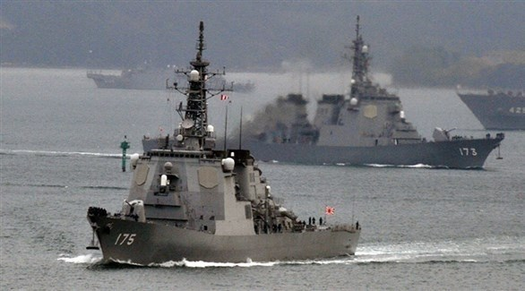 سفن حربية يابانية (أرشيف)