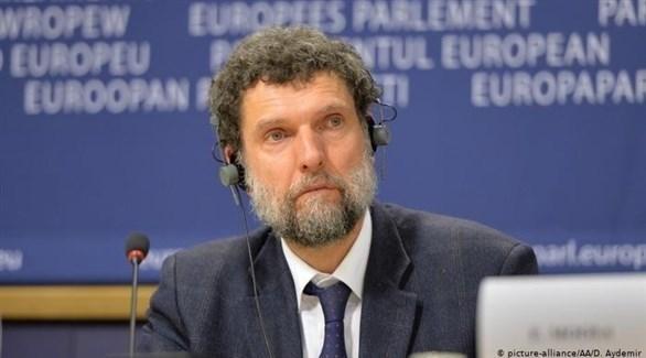 الناشط التركي عثمان كافالا (أرشيف)