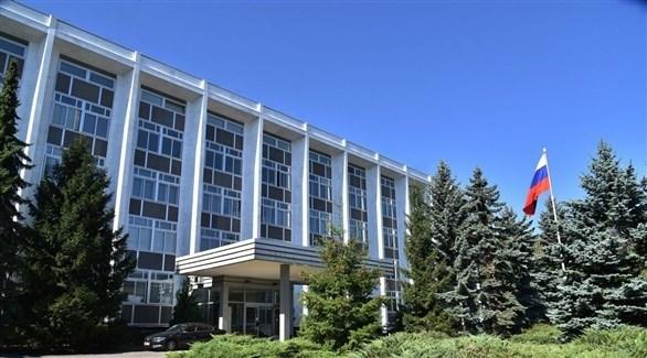 السفارة الروسية في بلغاريا (أرشيف)