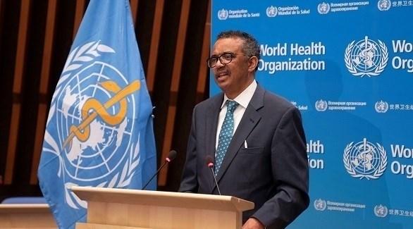 المدير العام لمنظمة الصحة العالمية تيدروس أدهانوم غيبرييسوس (أرشيف)