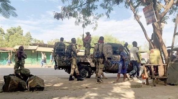 القوات الأثيوبية (أرشيف)
