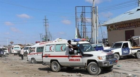 سيارات إسعاف صومالية (أرشيف)