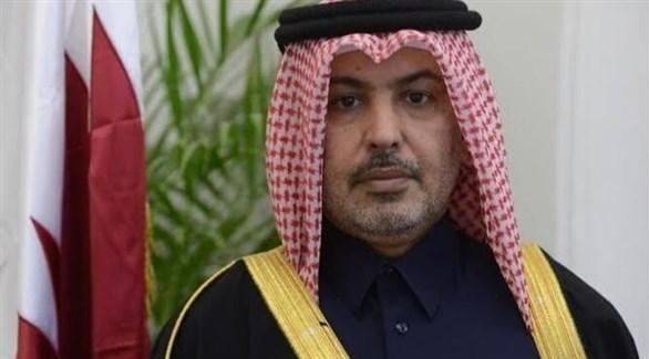 سفير دولة قطر لدى طهران محمد بن حمد الهاجري (أرشيف)