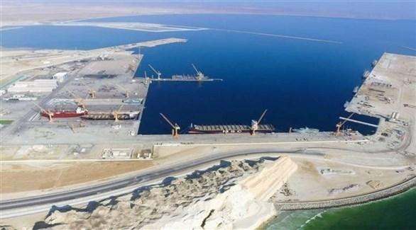 ميناء الدقم في عمان (أرشيف)