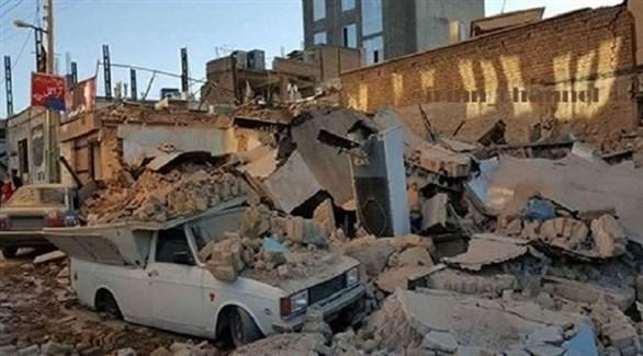 دمار في منطقة إيرانية تعرضت لزلزال (أرشيف)