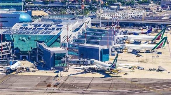 مطار روما (أرشيف)