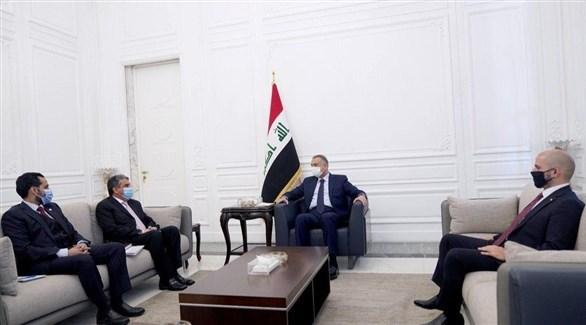 من لقاء الكاظمي بالسفير الكويتي في العراق (فيسبوك)