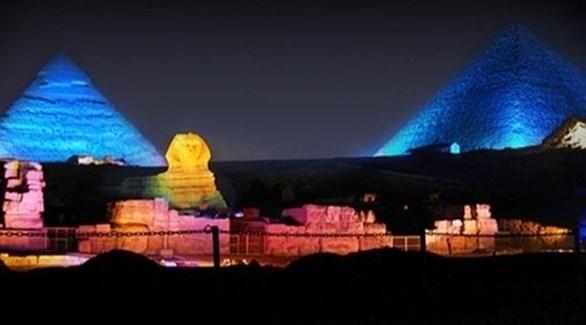 مشهد عام للأهرامات (أرشيف)
