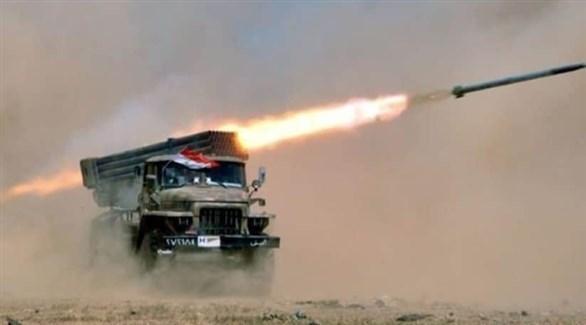 راجمة صواريخ للجيش السوري (أرشيف)
