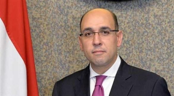 المتحدث باسم الخارجية المصرية أحمد حافظ (أرشيف)