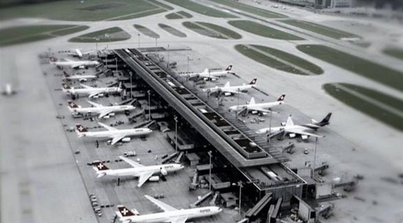 مطار زيورخ (أرشيف)