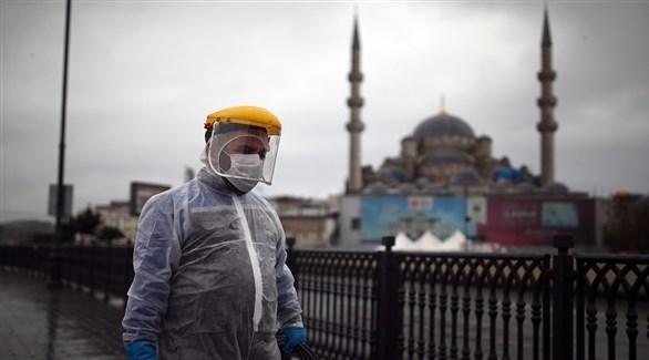 عامل بقطاع الصحة التركي (أرشيف)