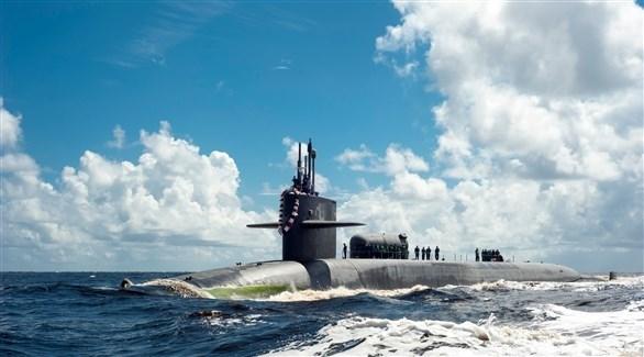 الغواصة النووية الأمريكية يو اس اس جورجيا (أرشيف)