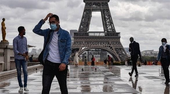 فرنسيون وسط باريس (أرشيف)