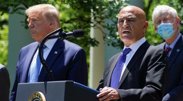 كبير مستشاري برنامج الرئيس دونالد ترامب ضد كورونا المنصف السلاوي (أرشيف)