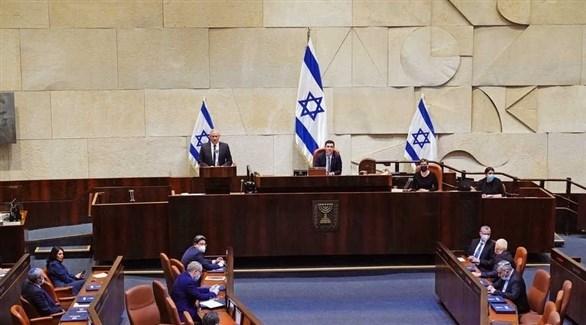 جلسة عامة في الكنيست الإسرائيلي (أرشيف)