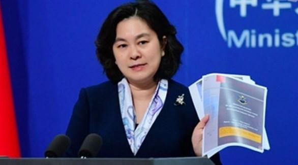 المتحدثة باسم الخارجية الصينية هوا شونيينغ (أرشيف)