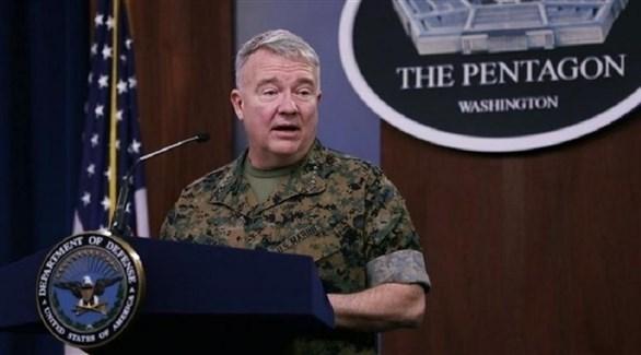 قائد القوات الأمريكية في الشرق الأوسط الجنرال فرانك ماكينزي (أرشيف)
