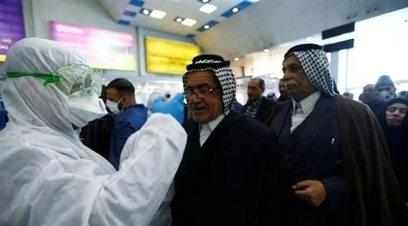 فحوصات لعراقيين في أحد المطارات (أرشيف)