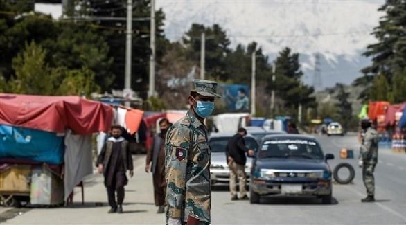 عناصر من الشرطة الأفغانية في كابول (أرشيف)