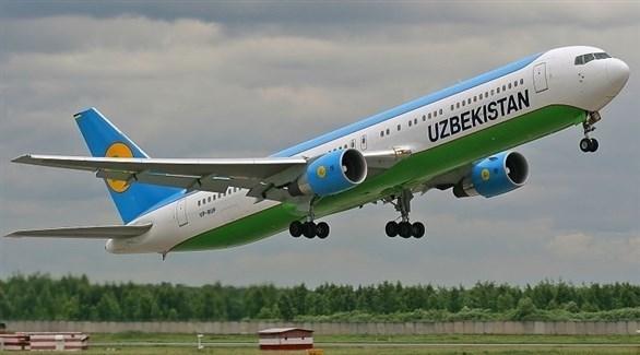 طائرة للخطوط الأوزبكية (أرشيف)