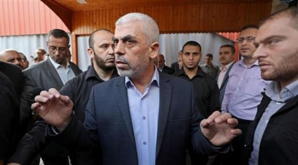 رئيس حركة حماس في غزة يحيى السنوار (أرشيف)