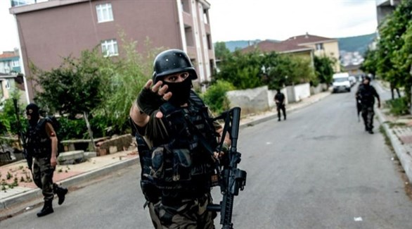 عناصر من قوة خاصة تركية في عملية أمنية (أرشيف)