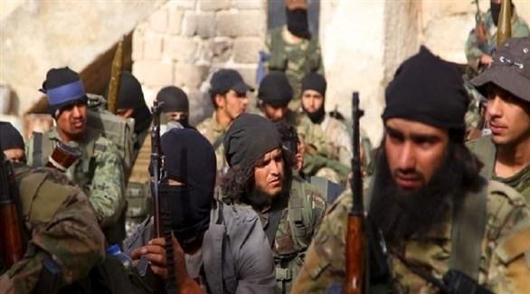 عناصر من تنظيم داعش (أرشيف)