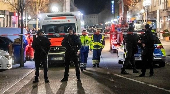 الشرطة الألمانية في موقع الحادث (أرشيف)