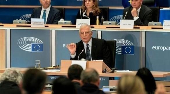 وزير خارجية الاتحاد الأوروبي جوزيب بوريل (أرشيف)