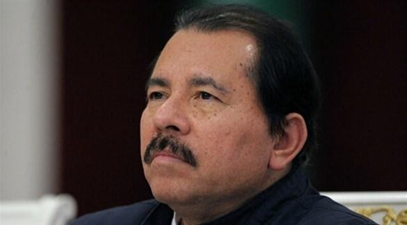 رئيس نيكاراغوا دانييل أوريتيغا (أرشيف)