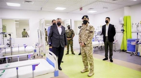ولي العهد الأردني الأمير الحسين بن عبد الله الثاني يفتتح المستشفى الميداني في معان (الغد الأردنية)