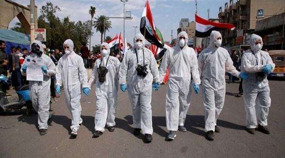عاملون في القطاع الصحي العراقي (أرشيف)