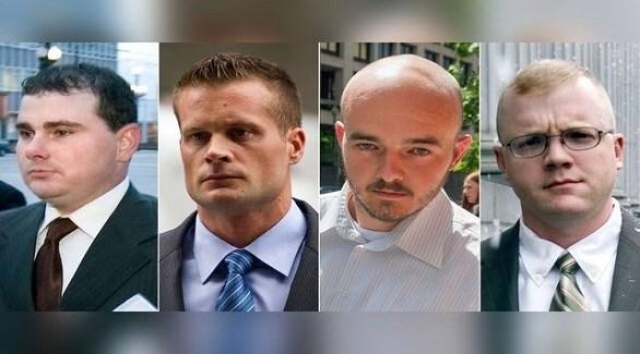 المدانون الأربعة بقتل مدنيين في العراق (أرشيف)