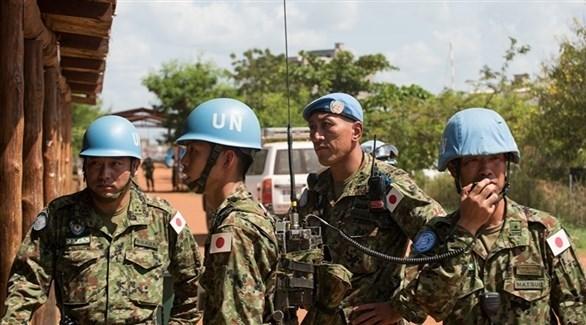 عناصر من قوات حفظ الأمن التابعة للأمم المتحدة (أرشيف)