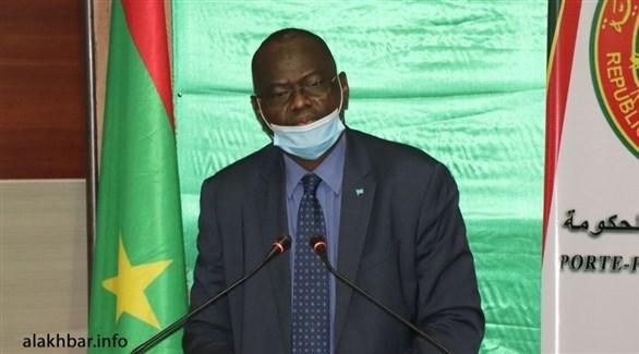 الناطق الرسمي باسم الحكومة الموريتانية سيدي ولد سالم (أرشيف)