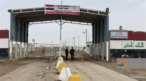منفذ الشلامجة الحدودي بين العراق وإيران (أرشيف)